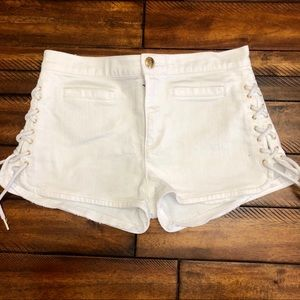Juicy Couture Side Tie Detail Shorts 27